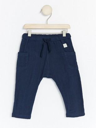 Woven Trousers Blue