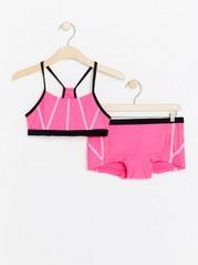 Neon pink bikini Pink