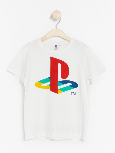 Playstation-T-skjorte Hvit
