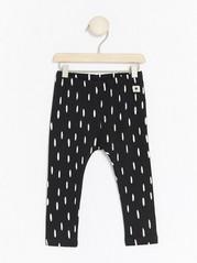 Dotted Leggings Black