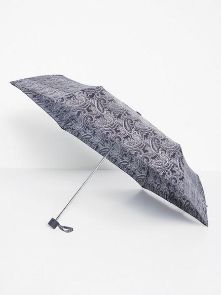 Paraply med paisleymønster Blå