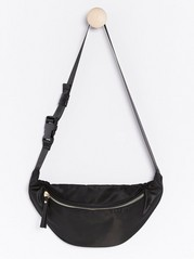 Black Bum Bag  Black