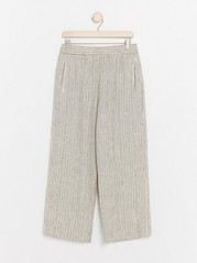 BELLA Relaxed Trousers  Beige
