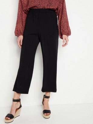 Volné kalhoty BELLA Černá