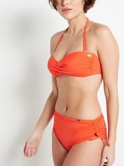 Classic Midi Bikini Briefs  Red