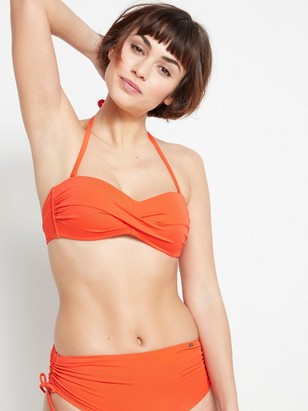 Bandeau bikini BH Röd