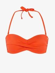 Bandeau Bikini Bra Red