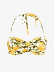 Bandeau Bikini Bra Yellow