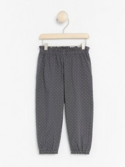 Trousers with Elasticated Waist Grey
