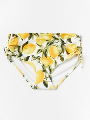 Classic Midi Bikini Briefs Yellow