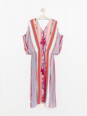Long Kaftan White