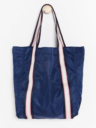 Shopperlaukku nailonia Sininen