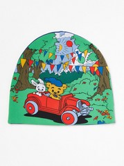 Jersey Cap with Bamse Green