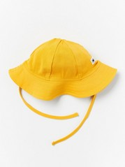 Sun hat in cotton jersey Yellow