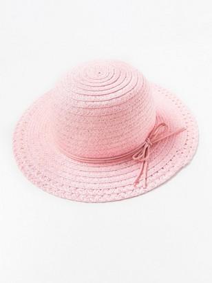 Straw Hat Pink