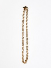Gold Coloured Chain Necklace  Yellow