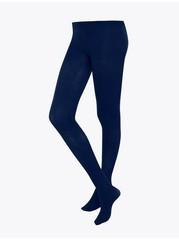 Mattapintaiset sukkahousut, 50 denieriä Sininen