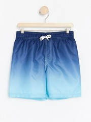 Swim shorts with ghost print Turquoise