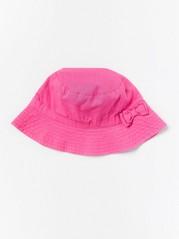 Sun Hat in Linen Blend Pink