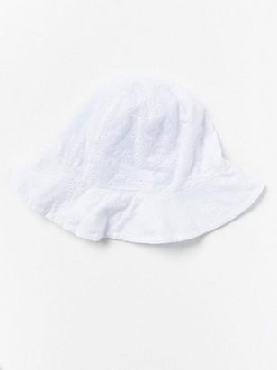 White Sun Hat White