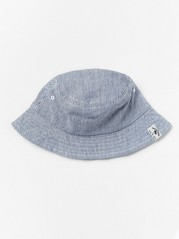 Striped Sun Hat Blue
