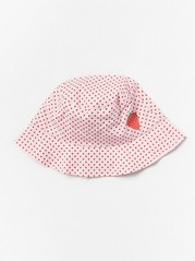 Reversible Sun Hat Red