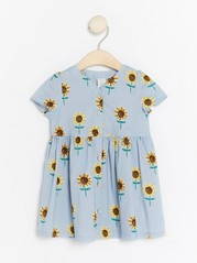 Dress with Sunflowers Blue