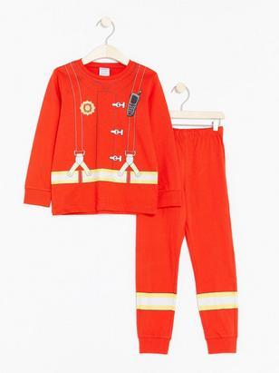 Pyjamas Fireman Red