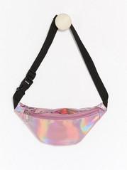 Shiny Bum Bag Pink