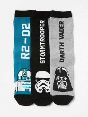 3-pack Star Wars Socks Black