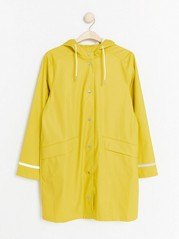 Hooded rain coat  Yellow