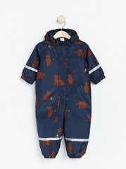 Padded overall Blue