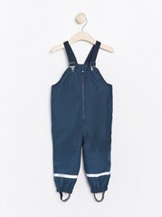 Shell trousers with braces Blue