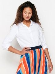Linen Blend Shirt  White