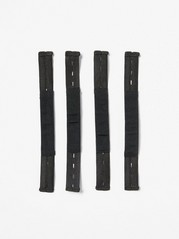 Extra Elastic Foot Strap, 4-pieces  Black