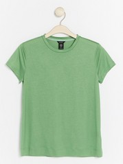 Jersey Top in Lyocell  Green