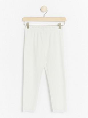 3/4-length leggings White