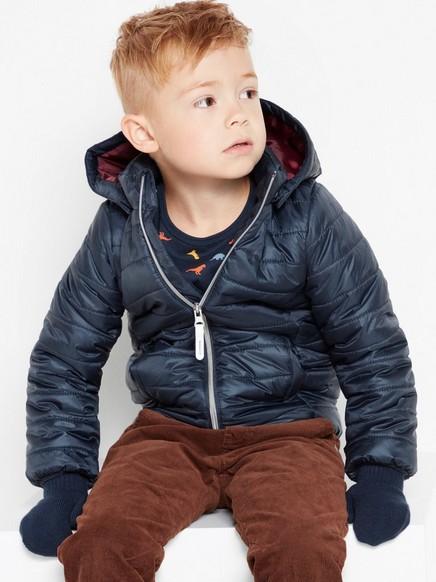 Light padded jacket Blue