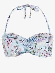 Bandeau bikini bra Lindex x By Malina  Blue