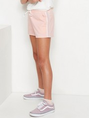 Shorts with Side Stripes Pink