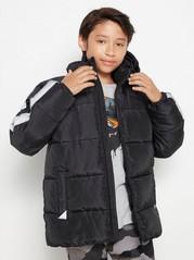 Zateplená bunda Černá