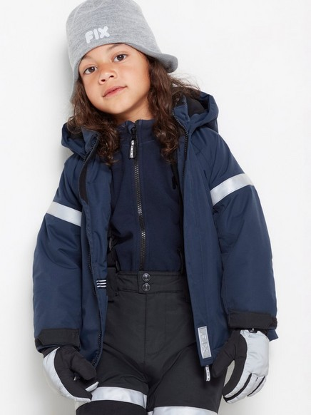 FIX Padded functional jacket Blue