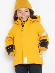 FIX Padded functional jacket Yellow