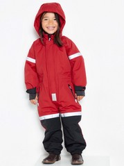FIX Padded overall Red