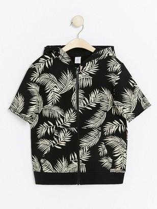 Short Sleeved Sweatshirt Black