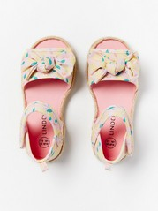 Sandals with Bows Pink