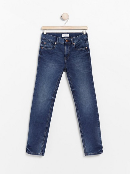 Blue regular fit jersey jeans Blue