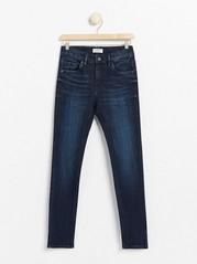 Narrow fit jeans Blå