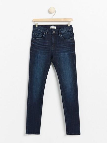Jeans med smal passform Blå