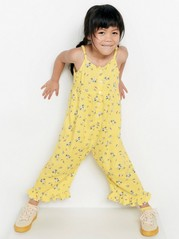 Patterned Jumpsuit Yellow